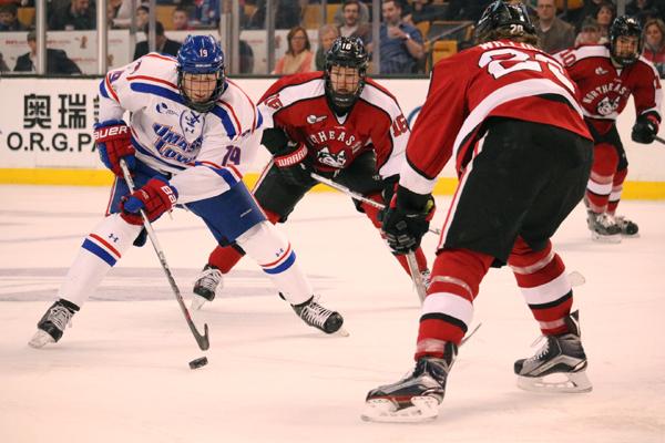 Scalding Northeastern wins Hockey East Championship over
